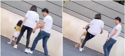 Majka iz Kine brutalno šutira svoju ćerku zato što ne pozira pravilno (video)