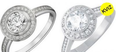 Da li razlikujete skup od jeftinog vereničkog prstena?