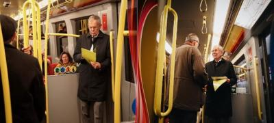 Predsednik Austrije na posao ide metroom, kao svi ostali građani (foto)