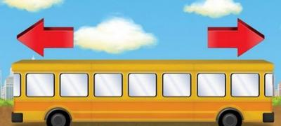 U kom pravcu se kreće autobus?
