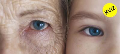 Stariji ili mlađi od svojih godina? Koliko staro izgledate?