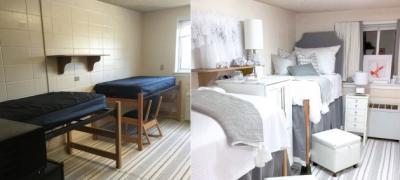 Pre i posle: 11 drastičnih transformacija soba u studentskim domovima
