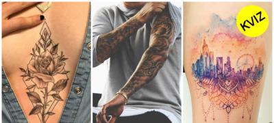 Kviz: Kakva tetovaža vam najviše odgovara?