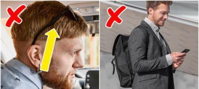 Pokvaren sat, naočare na glavi - Najčešće modne greške muškaraca