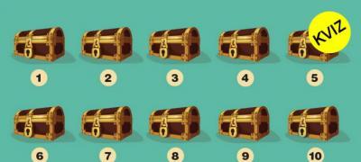 Testirajte svoju intuiciju: U kojem kovčegu se krije blago?