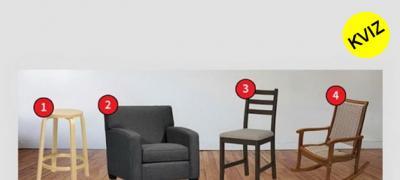 Kviz: Na koju stolicu biste izabrali da sednete?