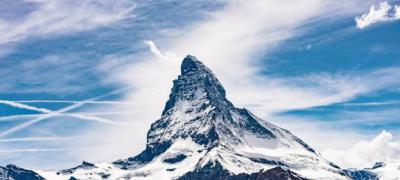 Najviši vrh Švajcarske osvetljen u znak podrške čovečanstvu