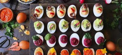 Idealno za slave, krštenja i brzo meze - punjena dekorativna jaja